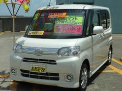 沖縄の中古車 ダイハツ タント 車両価格 89万円 リ済別 平成24年 6.7万K パールホワイト