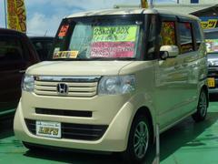 沖縄の中古車 ホンダ N BOX 車両価格 92万円 リ済別 平成25年 6.4万K クリームM