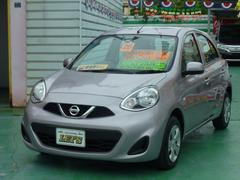 沖縄の中古車 日産 マーチ 車両価格 65万円 リ済別 平成26年 4.5万K ピンクM