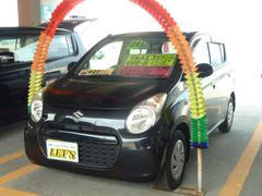 沖縄の中古車 スズキ アルトエコ 車両価格 46万円 リ済別 平成24年 7.8万K ブルーイッシュブラックパール3