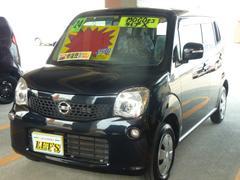 沖縄の中古車 日産 モコ 車両価格 63万円 リ済別 平成24年 6.6万K ブルーイッシュブラックP