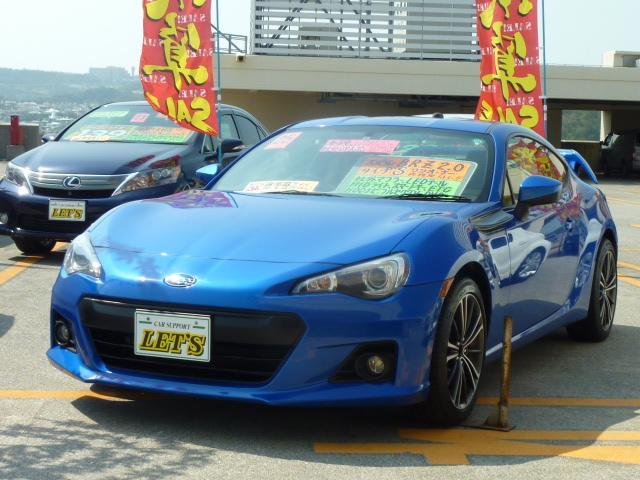 沖縄県の中古車ならBRZ S