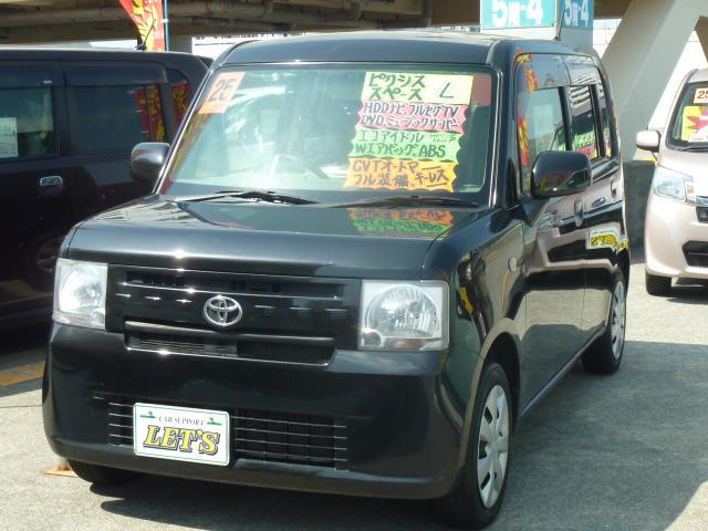 沖縄の中古車 トヨタ ピクシススペース 車両価格 63万円 リ済別 平成25年 6.5万km ブラックM