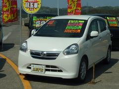 沖縄の中古車 ダイハツ ミライース 車両価格 49万円 リ済別 平成25年 7.6万K ホワイト