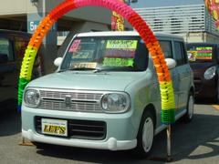 沖縄の中古車 スズキ アルトラパン 車両価格 66万円 リ済別 平成23年 8.8万K 水色ツートン