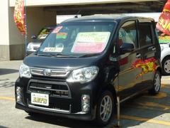 沖縄の中古車 ダイハツ タントエグゼ 車両価格 79万円 リ済別 平成25年 5.9万K ブラックマイカメタリック