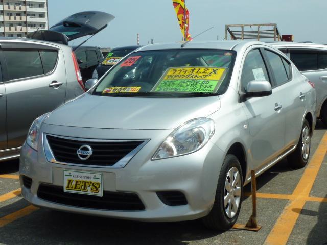 沖縄の中古車 日産 ラティオ 車両価格 59万円 リ済別 2013(平成25)年 4.0万km ブリリアントシルバーM