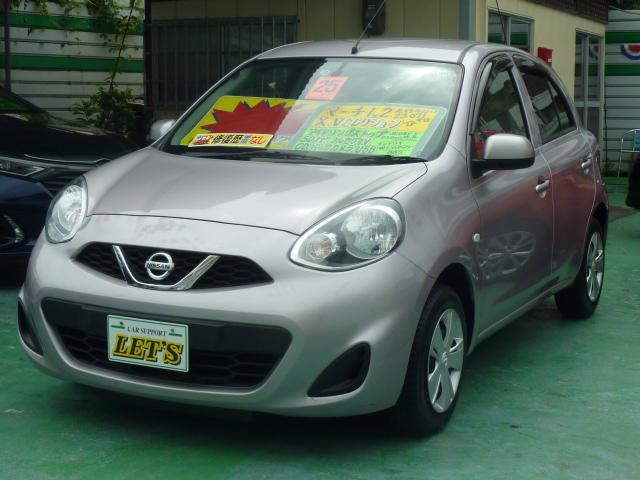 沖縄の中古車 日産 マーチ 車両価格 59万円 リ済別 2013(平成25)年 2.3万km ライトパープルM