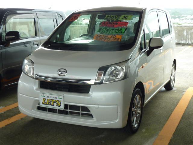 沖縄の中古車 ダイハツ ムーヴ 車両価格 63万円 リ済別 2013(平成25)年 5.1万km パールホワイトIII