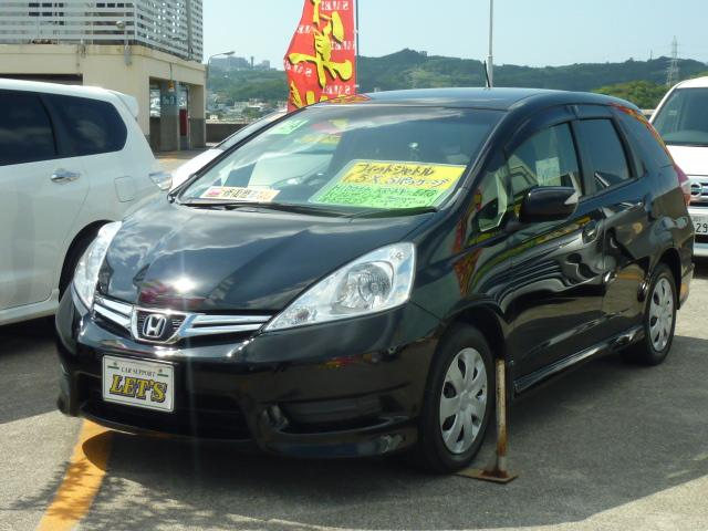 沖縄県の中古車ならフィットシャトル 15X Sパッケージ