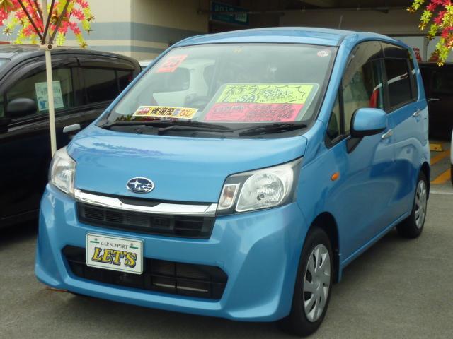 沖縄の中古車 スバル ステラ 車両価格 49万円 リ済別 2013(平成25)年 7.7万km ブルーM