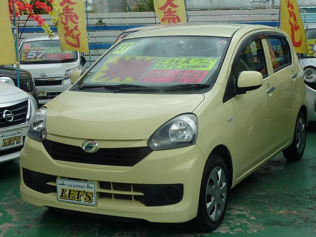 沖縄県宜野湾市の中古車ならミライース Lエコアイドル