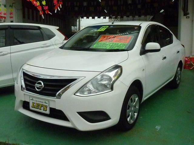 沖縄の中古車 日産 ラティオ 車両価格 59万円 リ済別 2015(平成27)年 5.9万km ホワイト