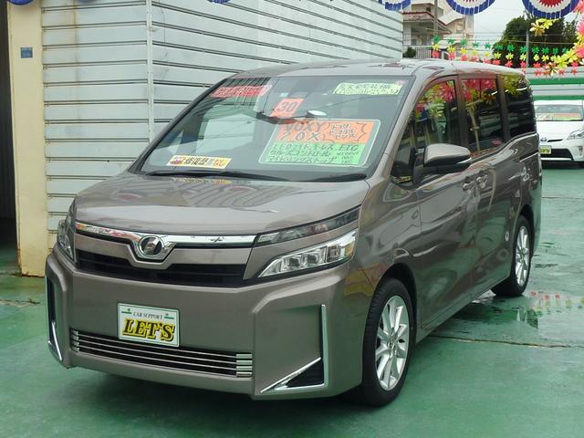沖縄県宜野湾市の中古車ならヴォクシー X トヨタセーフティセンス