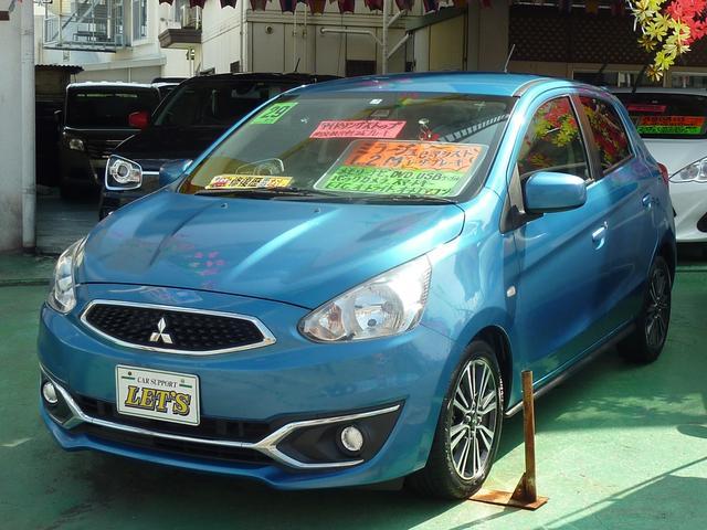 沖縄県宜野湾市の中古車ならミラージュ M e-アシスト・低車速域衝突被害軽減ブレーキシステム