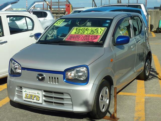 沖縄の中古車 マツダ キャロル 車両価格 53万円 リ済別 2015(平成27)年 6.8万km シルキーシルバーメタリック