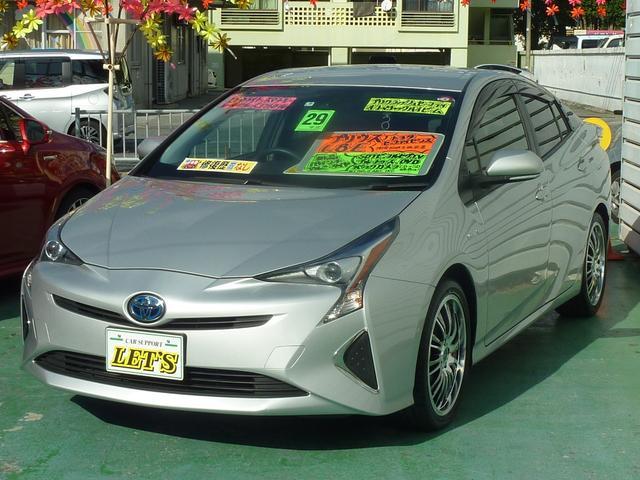 沖縄県宜野湾市の中古車ならプリウス E トヨタセーフティセンス・衝突被害軽減ブレーキ