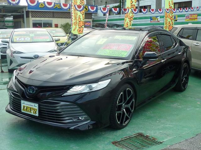沖縄県の中古車ならカムリ G ハイブリッド・トヨタセーフティセンスP