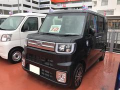 沖縄の中古車 ダイハツ ウェイク 車両価格 167万円 リ済別 平成29年 5K ブラックマイカM