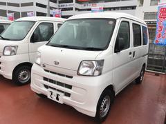 沖縄の中古車 ダイハツ ハイゼットカーゴ 車両価格 107万円 リ済別 平成28年 0.5万K ホワイト