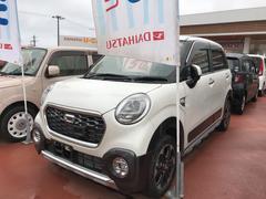 沖縄の中古車 ダイハツ キャスト 車両価格 160万円 リ済別 平成27年 0.3万K パールホワイト