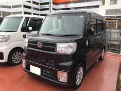 沖縄の中古車 ダイハツ ウェイク 車両価格 153万円 リ済別 平成28年 0.3万K ブラックマイカM