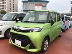 沖縄の中古車 ダイハツ トール 車両価格 154万円 リ済別 平成29年 1.4万K フレッシュグリーンM