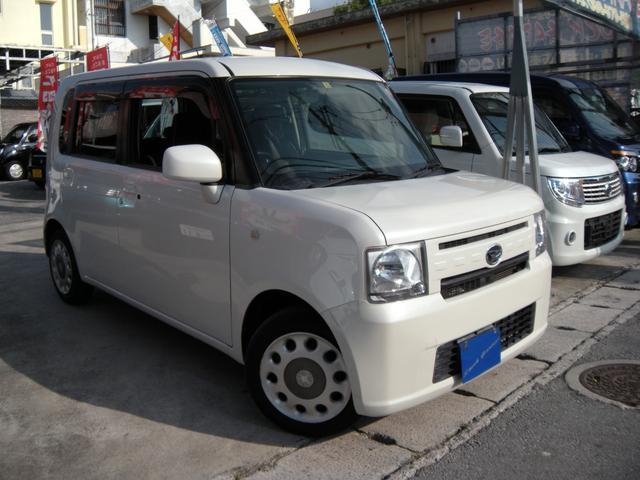 沖縄の中古車 ダイハツ ムーヴコンテ 車両価格 65万円 リ済込 平成25年 5.2万km パールホワイトIII
