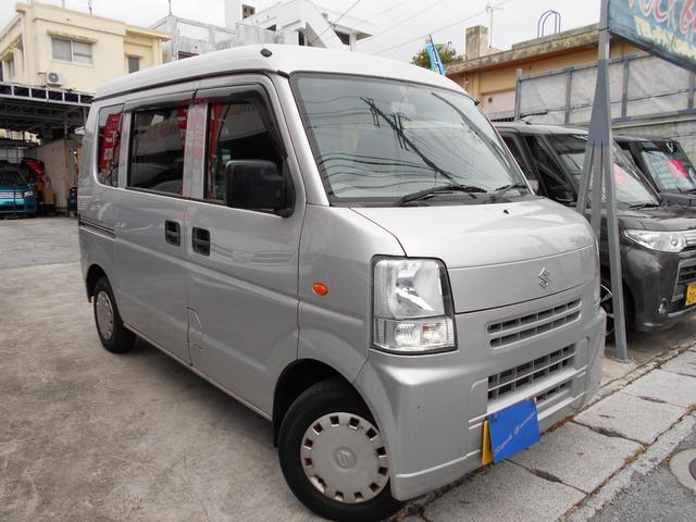 沖縄の中古車 スズキ エブリイ 車両価格 46万円 リ済込 平成25年 9.2万km ライトグレーM