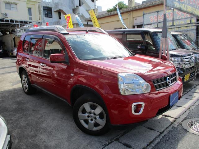 沖縄県の中古車ならエクストレイル 20S HDDナビDVDワンセグBカメラETCインテリキー