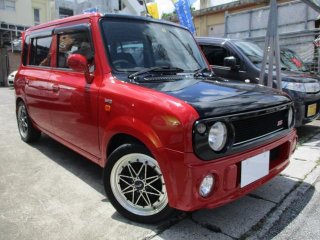 沖縄の中古車 スズキ アルトラパン 車両価格 75万円 リ済込 2008(平成20)年 7.1万km ブライトレッド2