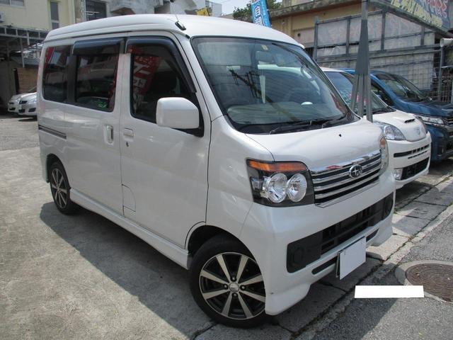沖縄の中古車 スバル ディアスワゴン 車両価格 65万円 リ済込 2012(平成24)年 6.8万km パールホワイト