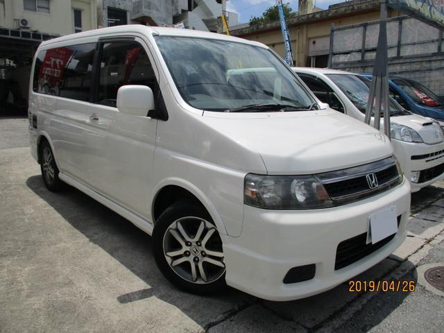 沖縄県の中古車ならステップワゴン スパーダ24T電動スライドドア