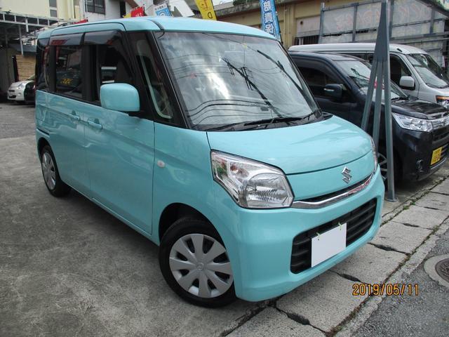 沖縄の中古車 マツダ フレアワゴン 車両価格 89万円 リ済込 2016(平成28)年 1.4万km Lグリーン