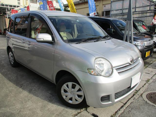 沖縄の中古車 トヨタ シエンタ 車両価格 35万円 リ済込 2006(平成18)年 7.2万km シルバーM