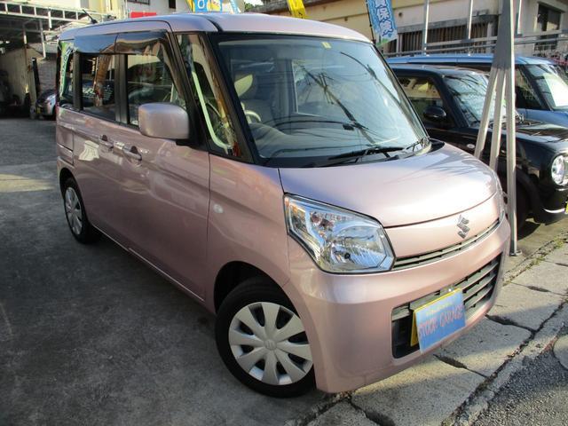 「スズキ」「スペーシア」「コンパクトカー」「沖縄県」「STOCK GARAGE (ストックガレージ)」の中古車