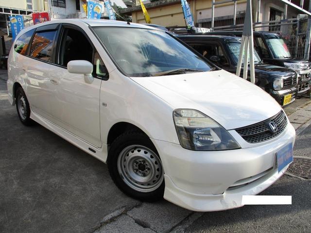 沖縄県の中古車ならストリーム スタイルS純正エアロHID