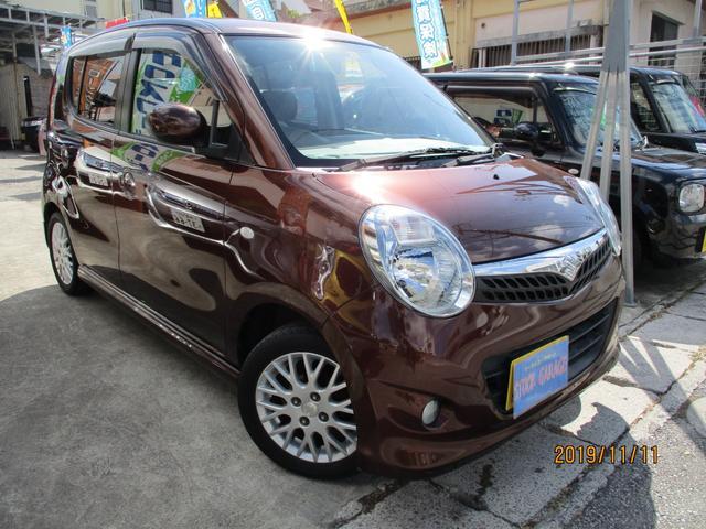 沖縄の中古車 スズキ MRワゴン 車両価格 34万円 リ済込 2010(平成22)年 6.1万km マルーンブラウンパール