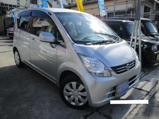 沖縄の中古車 ダイハツ ムーヴ 車両価格 44万円 リ済込 2010(平成22)年 2.5万km ライトグレーM