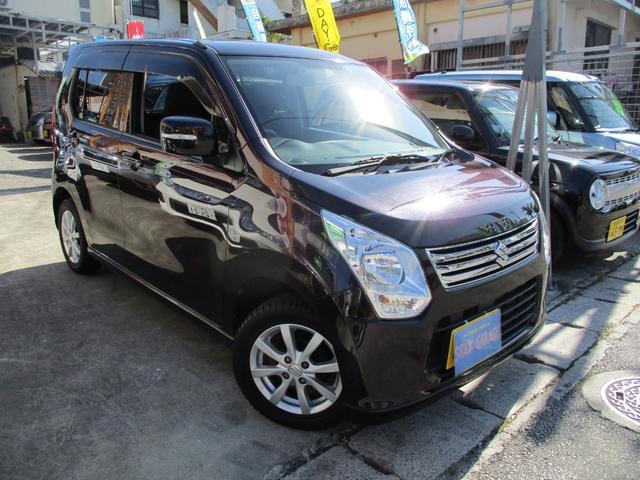 沖縄県の中古車ならワゴンR FXリミテッドアイドリングストッププッシュスタートCDETC