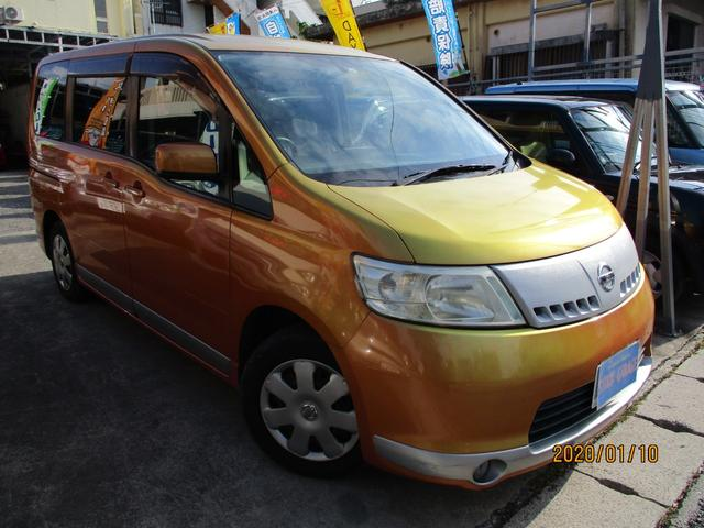 沖縄県の中古車ならセレナ 20RSパワースライドドアETCキーレス