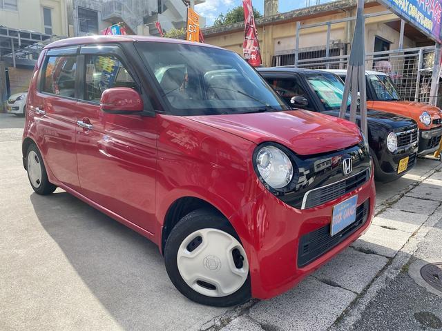 沖縄の中古車 ホンダ N-ONE 車両価格 45万円 リ済込 2013(平成25)年 13.6万km ミラノレッド
