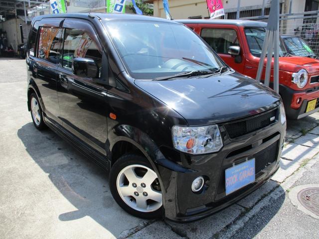 沖縄の中古車 三菱 eKスポーツ 車両価格 38万円 リ済込 2013(平成25)年 10.0万km ブラックマイカ