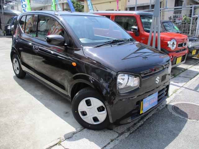 沖縄の中古車 スズキ アルト 車両価格 87万円 リ済別 新車  DブラウンM