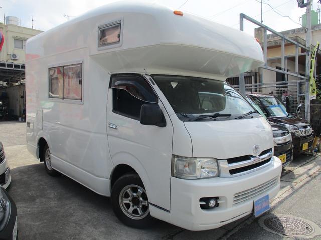 沖縄の中古車 トヨタ ハイエースワゴン 車両価格 420万円 リ済込 2006(平成18)年 5.9万km ホワイト