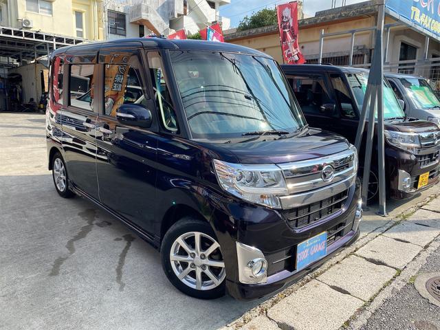 沖縄の中古車 ダイハツ タント 車両価格 79万円 リ済別 2015(平成27)年 4.8万km ダークパープルM