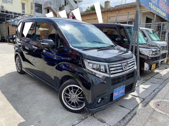 沖縄の中古車 ダイハツ ムーヴ 車両価格 88万円 リ済別 2016(平成28)年 8.0万km ブラックM