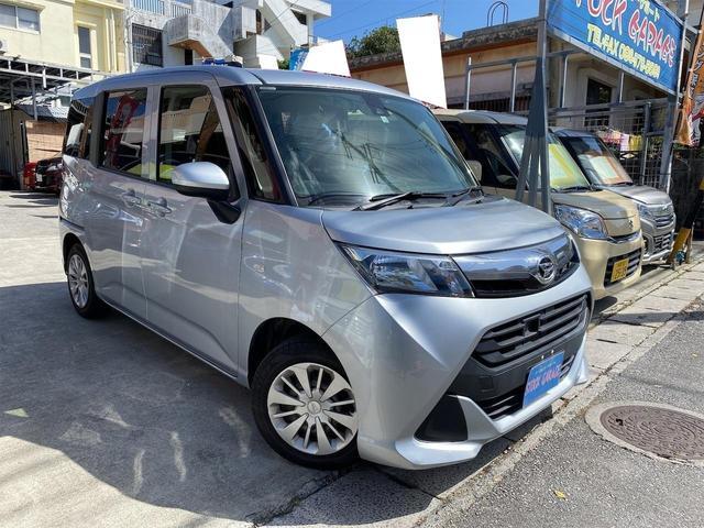 沖縄県宜野湾市の中古車ならトール X SAII 電動スライドドア・ナビDVD・ETC・プッシュスタート・スマートキー・サンシェード