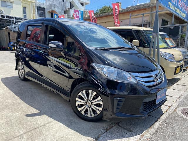 沖縄の中古車 ホンダ フリード 車両価格 55万円 リ済別 2012(平成24)年 9.8万km ダークパープルM