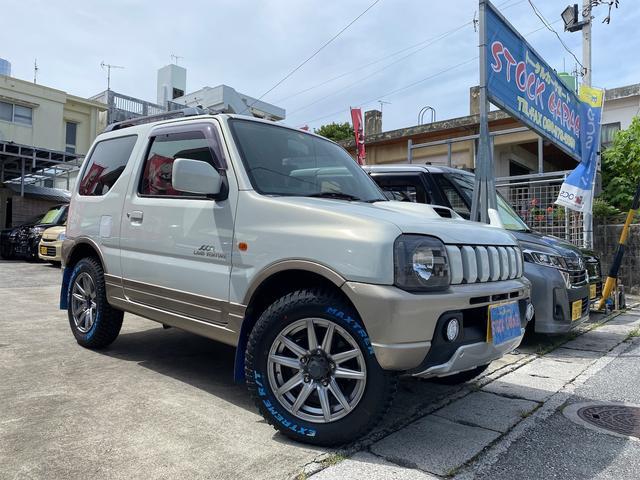 沖縄の中古車 スズキ ジムニー 車両価格 58万円 リ済別 2004(平成16)年 7.0万km パールII